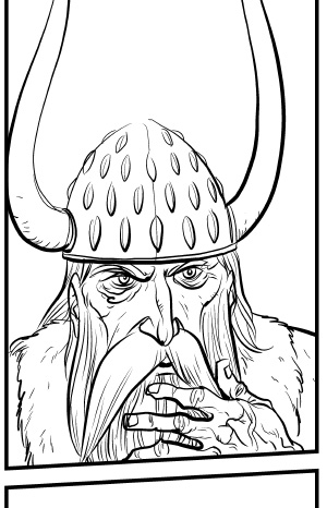 Hrothgar inking test