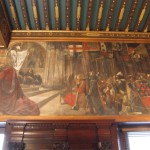 """The Quest and Achievement of the Holy Grail"" - Wall paintings in the Boston Public Library installed in 1895 By Edwin Austin Abbey"