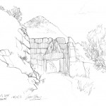 GHinds Greece sketchbook 1-02 Mycenae