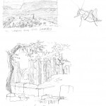 GHinds Greece sketchbook 1-03 Mycenae Olympia