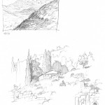 GHinds Greece sketchbook 1-16 Delphi