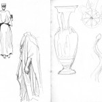 GHinds Greece sketchbook 2-08 Athens Museum