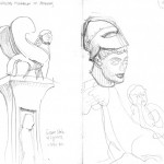 GHinds Greece sketchbook 2-12 Athens Museum