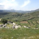 Landscape around Mycenae