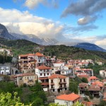 Arachova and its magnificent mountains