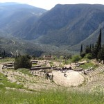 The theatre at Delphi