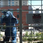 The bear wants into Comic Con